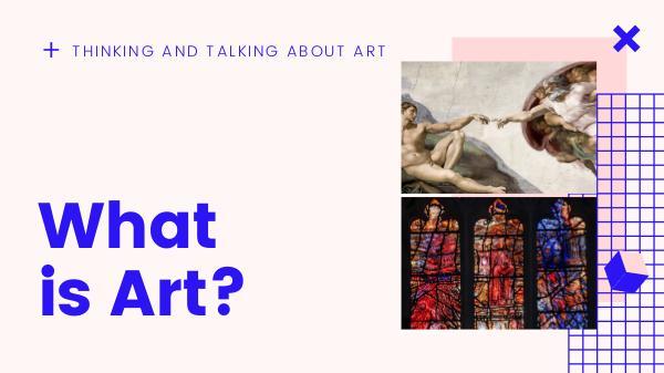 Art What is Art