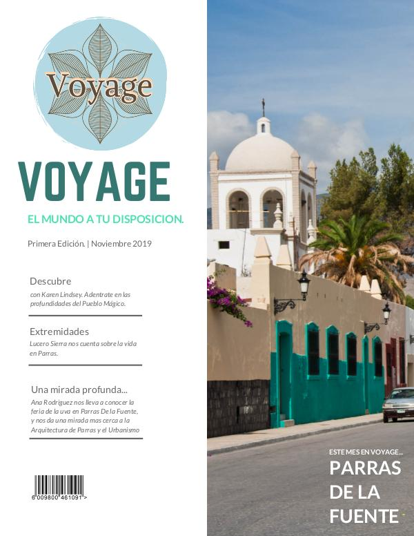 Voyage Green Mountaineering Magazine Cover