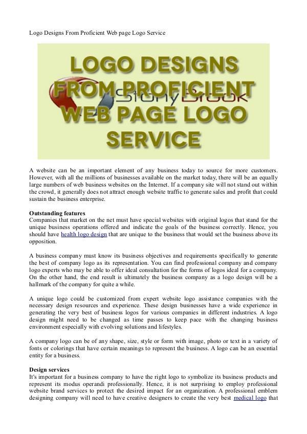 Healthcare Logo Design Logo Patterns From Proficient Internet Site Logo