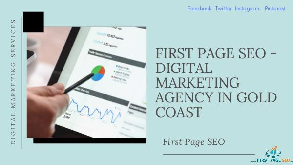 First Page SEO FIRST PAGE SEO - DIGITAL MARKETING AGENCY IN GOLD