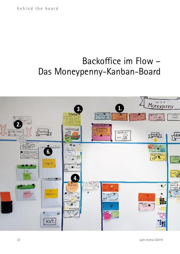 Backoffice im Flow – Das Moneypenny-Kanban-Board agile review 2019/2 Werft Ballast ab!