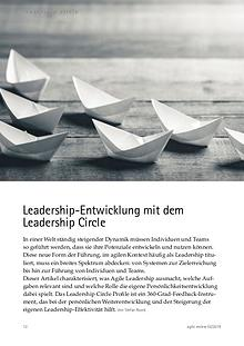 Leadership-Entwicklung mit dem Leadership Circle
