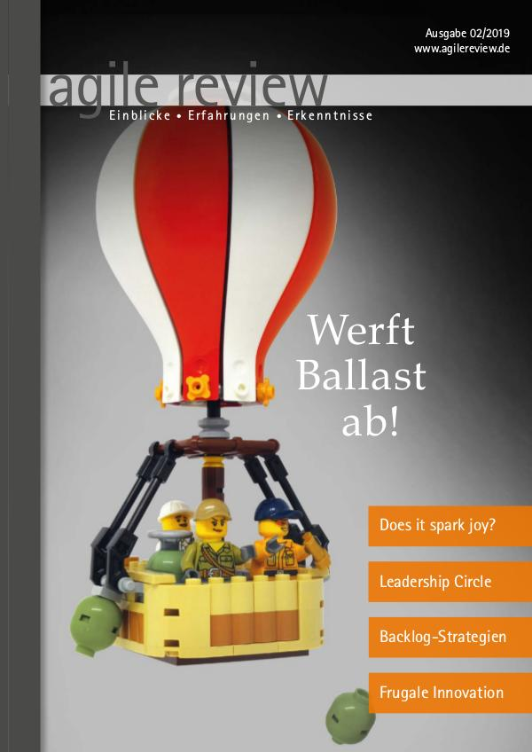 agile review 2019/2 Werft Ballast ab!