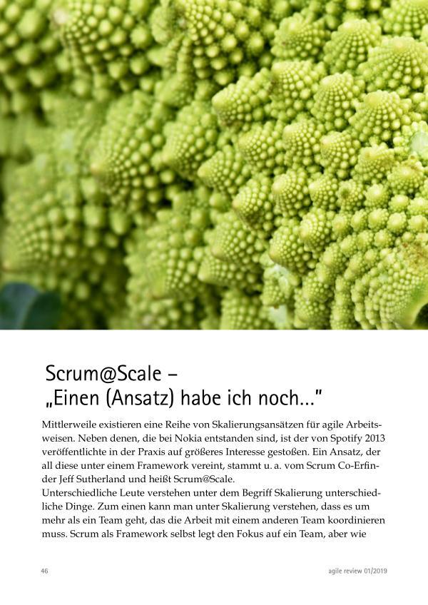 Scrum @ Scale