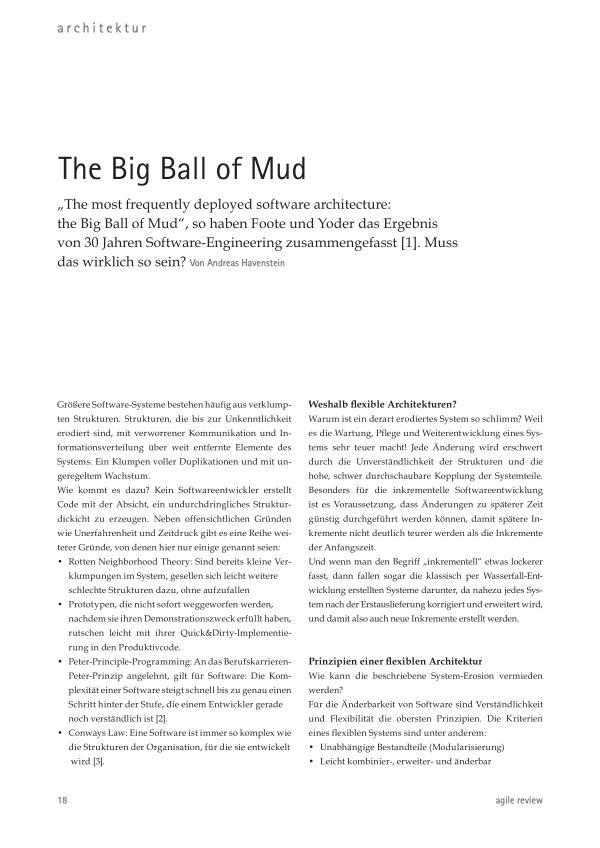 The Big Ball of Mud