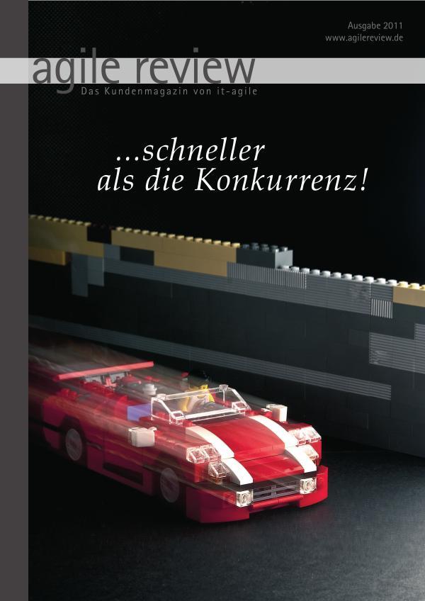agile review Leseprobe ... schneller als die Konkurrenz! (2011/1)