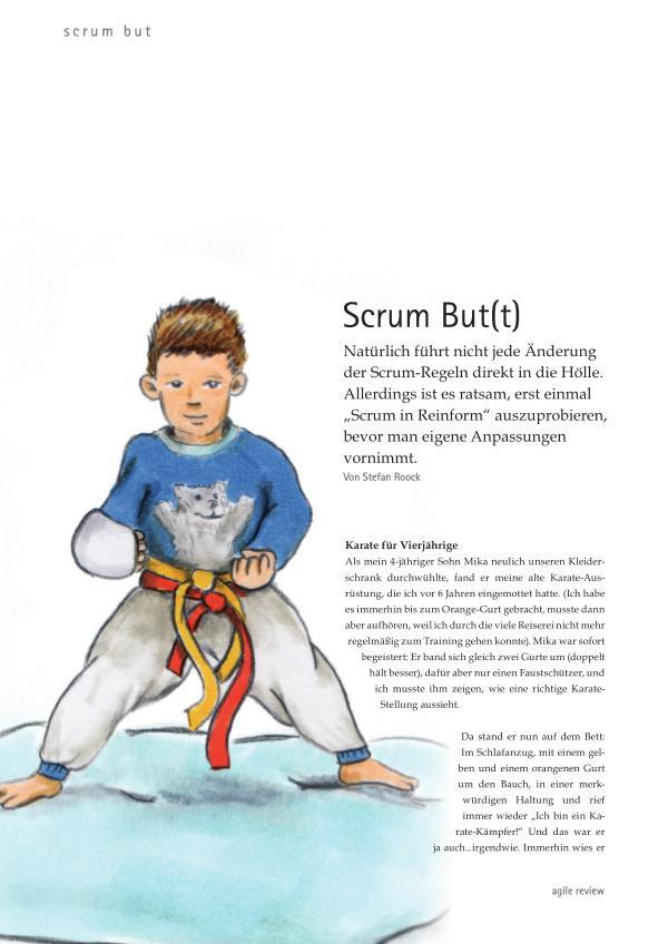 Veränderung willkommen (2012/1)  Scrum But(t)