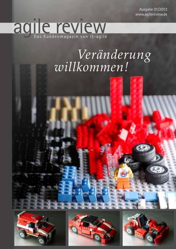 agile review Leseprobe Veränderung willkommen (2012/1)