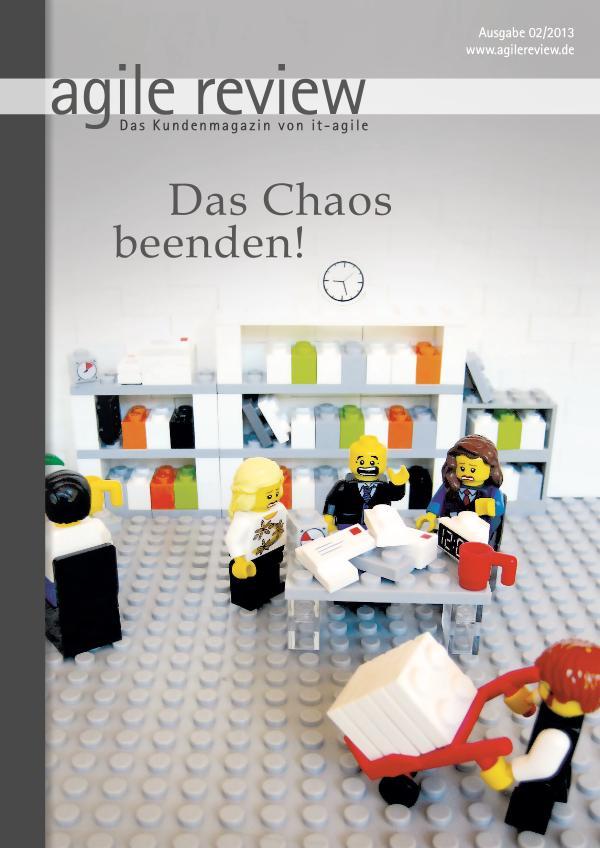 agile review Leseprobe Das Chaos beenden (2013/2)