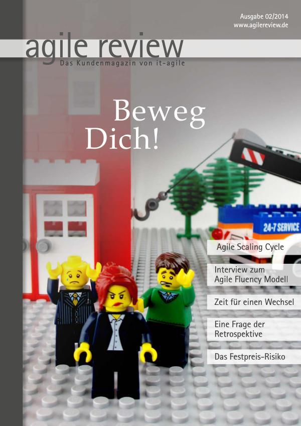 agile review Leseprobe Beweg Dich (2014/2)