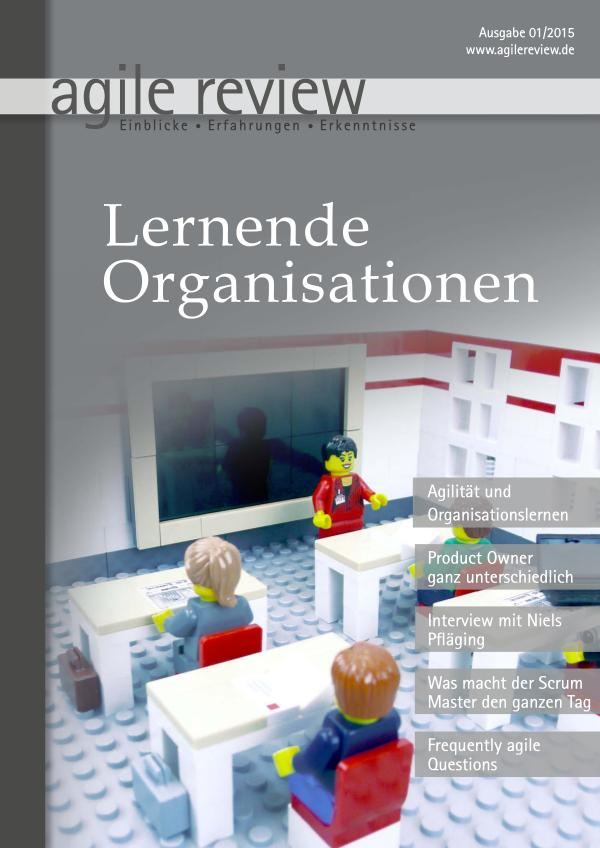 agile review Leseprobe Lernende Organisation (2015/1)