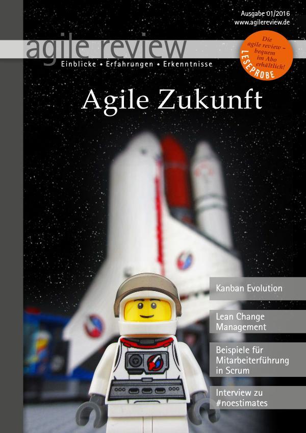 agile review Leseprobe Agile Zukunft (2016/1)