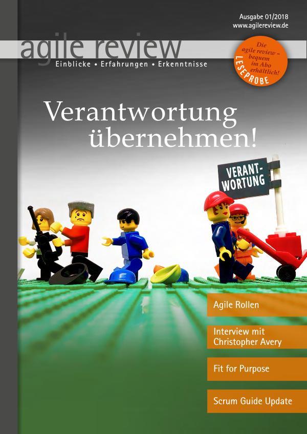 agile review Leseprobe Verantwortung übernehmen! (2018/1)