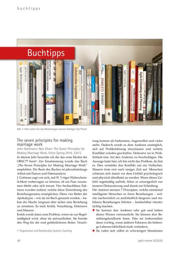 Buchtipps 2020-Herbstausgabe Agil durch die Krise! (2020/2)