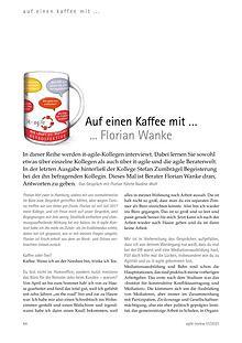 Auf einen Kaffee mit ... Florian Wanke