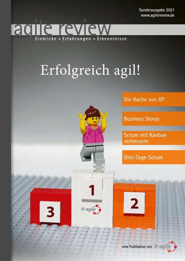 Editorial & Inhalt Erfolgreich agil! (2021/S)