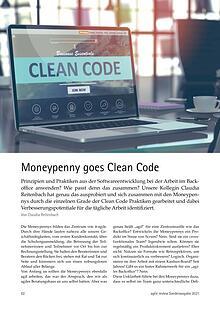 Moneypenny goes Clean Code - Vom roten zum weißen Grad
