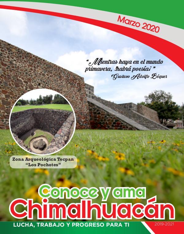 Conoce y Ama Chimalhuacán Marzo 2020