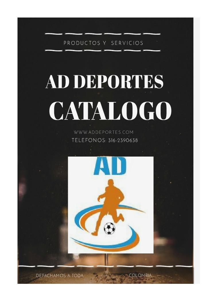 CATALOGO AD DEPORTES CATALOGO  AD  DEPORTES