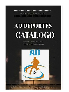CATALOGO AD DEPORTES