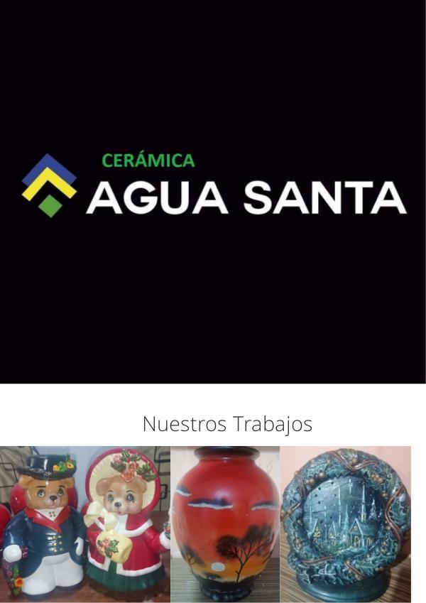Catalogo Cerámica Agua Santa CERÁMICA AGUA SANTA