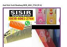 Jual Sisir Serit Bandung 0838–4061–2744[wa]