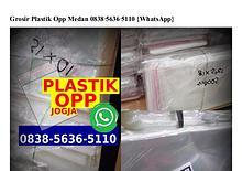 Grosir Plastik Opp Medan 0838~5636~5110[wa]