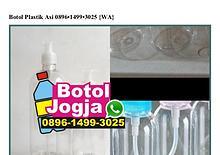 Botol Plastik Asi Ô896-1499-3Ô25[wa]