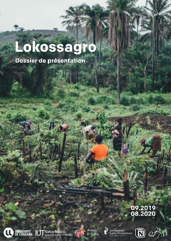 Lokossagro : dossier de présentation Dossier de présentation