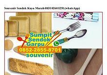 Souvenir Sendok Kayu Murah 083I.0260.I25I[wa]