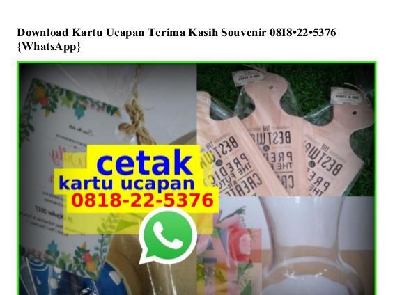 Download Kartu Ucapan Terima Kasih Souvenir 0818~22~5376[wa] download kartu ucapan terima kasih souvenir