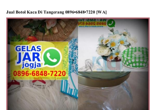 Jual Botol Kaca Di Tangerang 0896•6848•7220[wa] jual botol kaca di tangerang