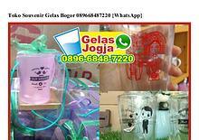 Toko Souvenir Gelas Bogor 089668487220[wa]