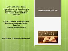 Diccionario Pictórico de Taller de Producción