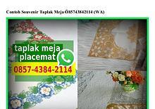 Contoh Souvenir Taplak Meja Ö857_4384_2114[wa]