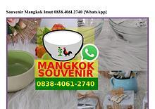 Souvenir Mangkok Imut 0838 406I 2740[wa]