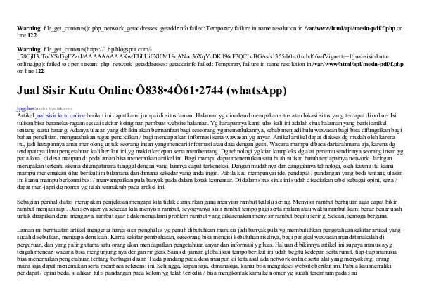 Jual Sisir Kutu Online 0838·406I·2744[wa] jual sisir kutu online