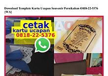 Download Template Kartu Ucapan Souvenir Pernikahan 08I8.22.5376[wa]