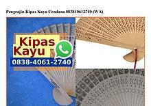 Pengrajin Kipas Kayu Cendana 0838406I2740[wa]
