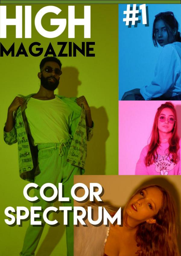 HIGH MAGAZINE #1 - COLOR SPECTRUM COLOR SPECTRUM