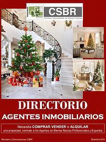 DIRECTORIO AGENTES BIENES RAICES CSBR Diciembre 2019