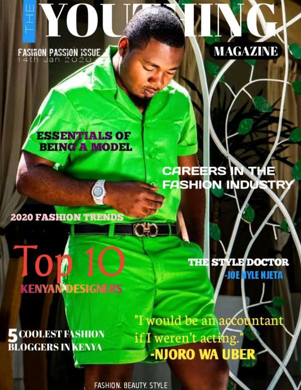 THE YOUTHING MAGAZINE FASHION PASSION ISSUE