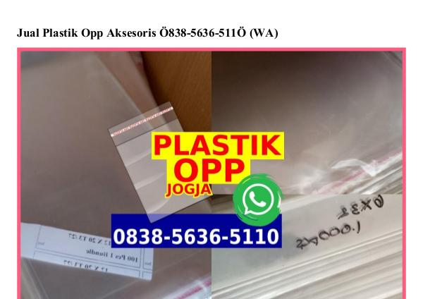Jual Tabung Mika Bandung Ô831•Ô8Ô1•2343 {WhatsApp} jual plastik opp aksesoris