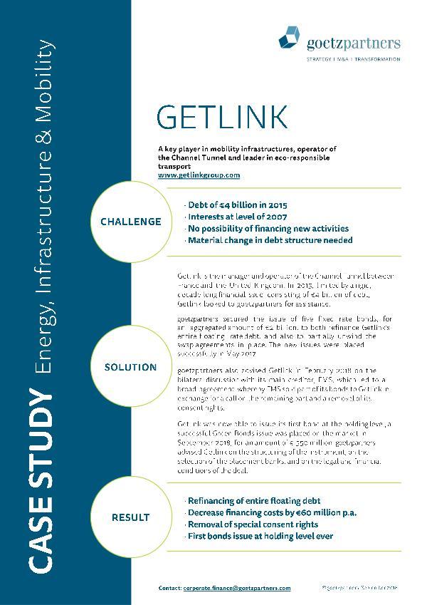 Client Case: Getlink