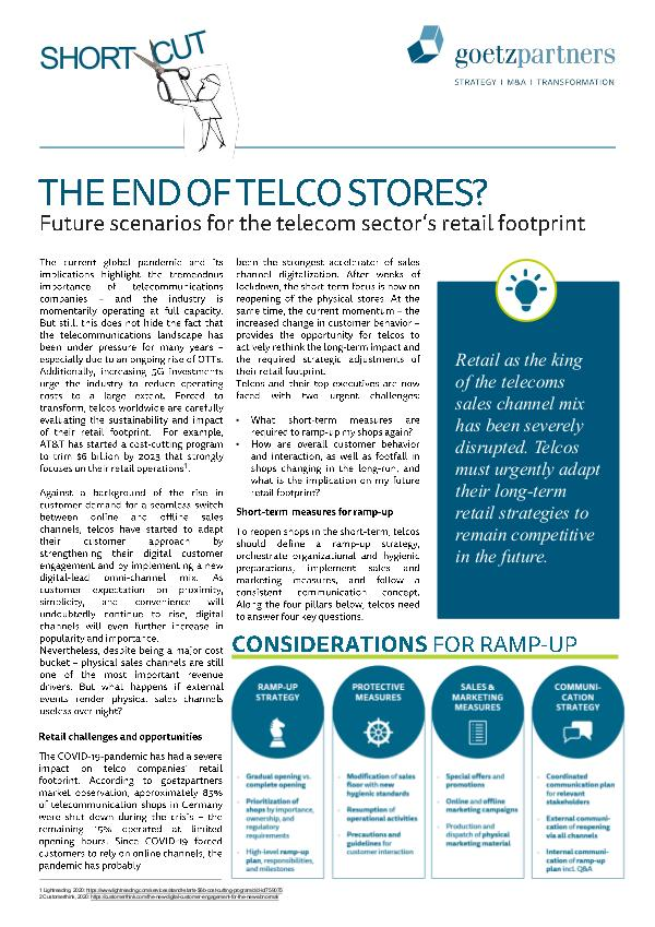 ShortCut: The end of telco stores?