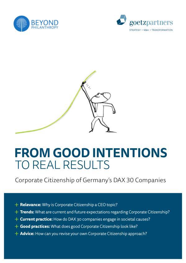 Study: Corporate Citizenship