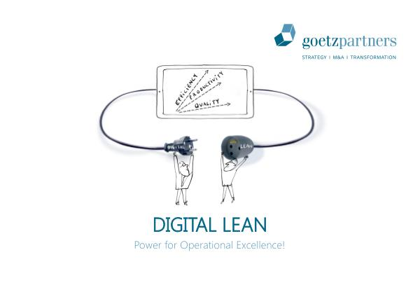 Brochure: Digital Lean