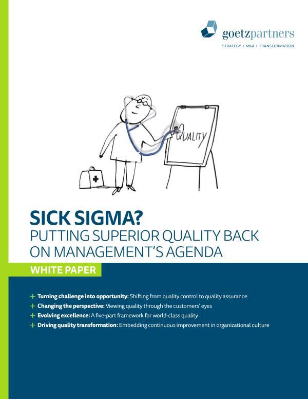 Brochure: Quality Transformation