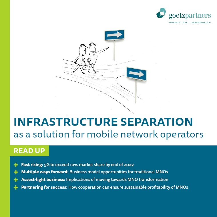 Study: Infrastructure Separation