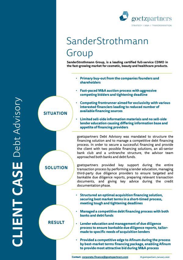 Client Case: SanderStrothmann Group